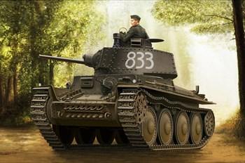 Сборная модель German Panzer Kpfw.38(T) Ausf.E/F  (1:35) Hobby Boss