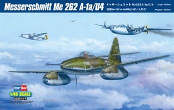 Сборная модель Messerschmitt Me 262 A-1a/U4  (1:48) Hobby Boss