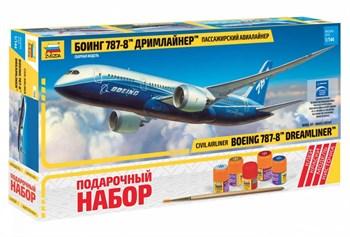 """Подарочный набор Самолет """"Боинг 787"""""""