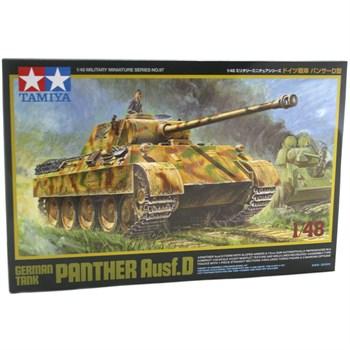 1/48 немецкий танк Panther Ausf. D с фигурой командира. НОВИНКА!!!