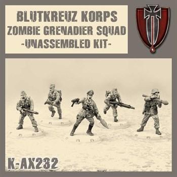 Bkk Zombie Grenadier Squad - Model Kit