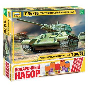 """Подарочный набор  Танк """"Т-34/76"""" образца 1942 г."""