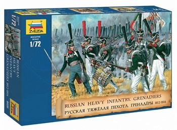 Сборная модель Русские гренадеры 1812 гг. Звезда