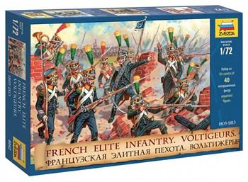Сборная модель Французская элитная пехота. Вольтижеры Звезда