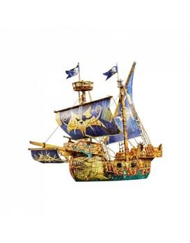 """Сборная модель из картона """"Пиратский корабль"""""""
