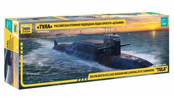 Российская атомная подводная лодка «Тула» проекта «Дельфин»