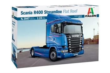 Scania R400 Streamline Flat Roof  (1:24)