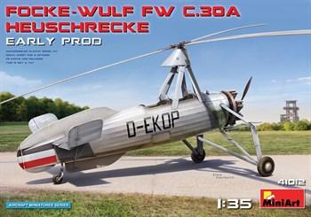Самолёт  FOCKE-WULF FW C.30A HEUSCHRECKE. EARLY PROD  (1:35)