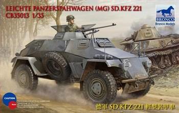 Leichter Panzerspahwagen (MG) Sd.Kfz. 221 (1:35)