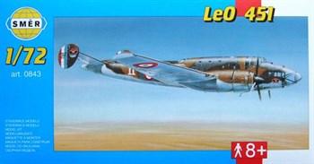 Самолёт  Самолет  LeO 451 (1:72)