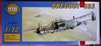 Самолёт  Самолет  Breguet 693 (1:72)