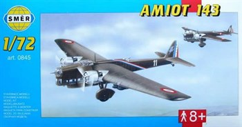 Самолёт  Самолет  Amiot 143 (1:72)