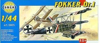 Самолёт  Самолёт  Fokker Dr. 1 (1:48)