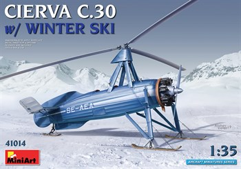 Cierva C.30 W/ Winter Ski  (1:35)