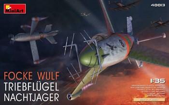 Самолёт  FOCKE WULF TRIEBFLUGEL NACHTJAGER  (1:35)