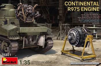 Дополнения из пластика  CONTINENTAL R975 ENGINE  (1:35)