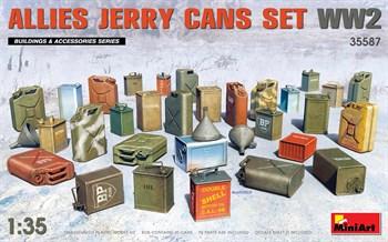 Наборы для диорам  Allies Jerry Cans Set  (1:35)