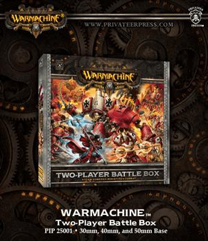 Warmachine Two Player Battle Box (Стартер на двух игроков)