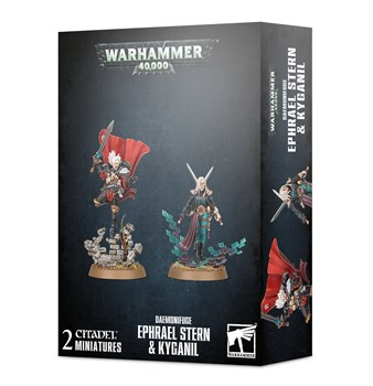 Daemonifuge Ephrael Stern & Kyganil Warhammer 40000