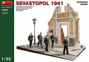 Наборы для диорам  SEVASTOPOL 1941  (1:35)