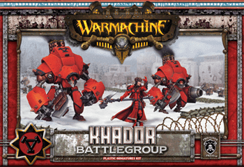Khador MkII Battlegroup Box (3 Plastic Models) Starter BOX