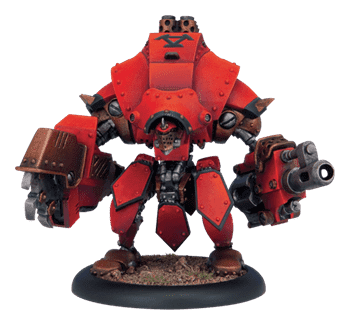 Khador Heavy Plastic Warjack Kit BOX