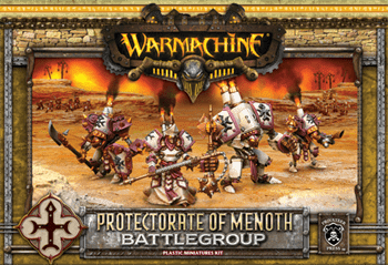 Protectorate of Menoth MKII Battlegroup Box (4 Plastic Models) BOX