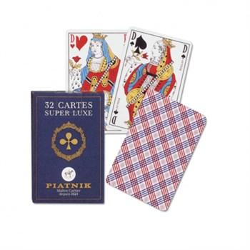 1443 Игральные карты Супер люкс 32 листа