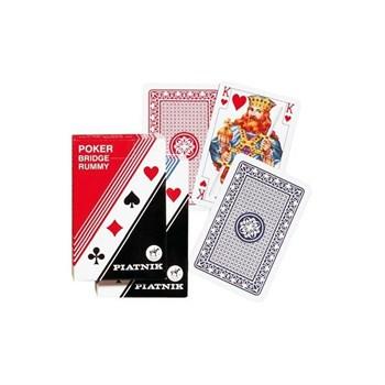 1197 Игральные карты Стандарт Рамми, 55 листов