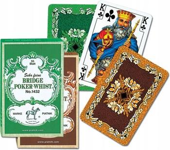 1432 Игральные карты, 55 листов Бридж-Покер-Вист, 55 листов
