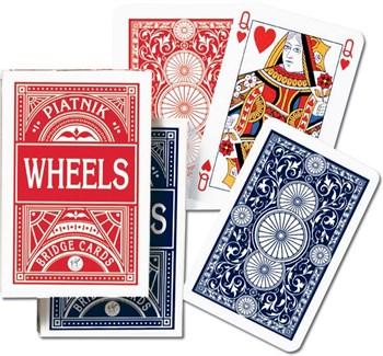 1391 Игральные карты Круги Покер, 55 листов