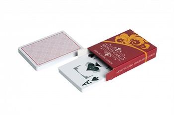 "7163 Карты для покера ""Monte Carlo"" (100% пластик Jumbo Index)"