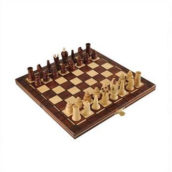 """3017 Шахматы """"Мини Роял"""" (32х16х5 см) дерево"""
