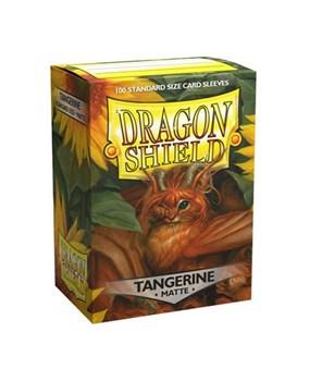 Протекторы Dragon Shield матовые Tangerine (100 шт.)
