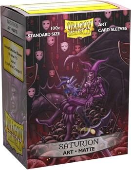 Протекторы Dragon Shield - Saturion: Portrait (100 шт.)