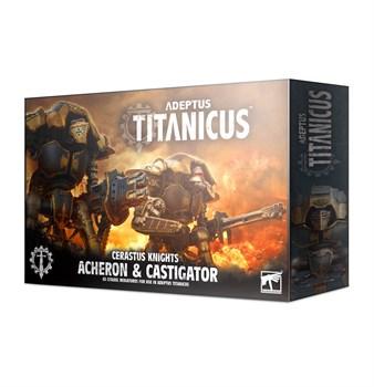 Adeptus Titanicus Knight Archeron & Castigator