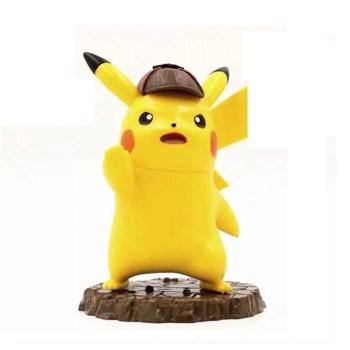 Фигурка детектив Пикачу в шляпе