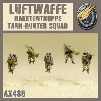 Rakettentruppe Tank-Hunter Squad (собран и загрунтован) Люфтваффе Противотанковая Ракетная Группа