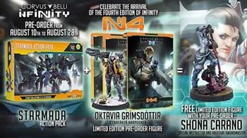 Infinity N4 + Starmada Action Pack + Shona Carano