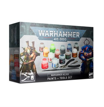 Warhammer 40000 Paints + Tools Set (eng)