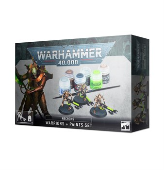 Necrons Warriors + Paint Set  (eng)