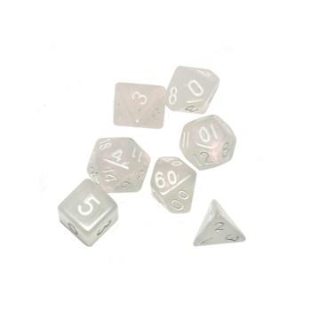 Набор кубиков STUFF PRO для ролевых игр. Неон Розовые