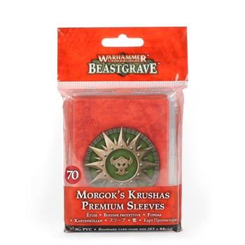 Morgok's Krushas Premium Sleeves
