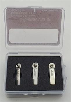 Набор ревитеров  d 8.5 мм, шаг - 0,65/0,75/0,8 мм, 3 шт.