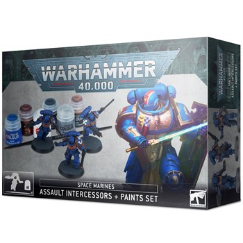 Assault Intercessors + Paint Set  (eng)