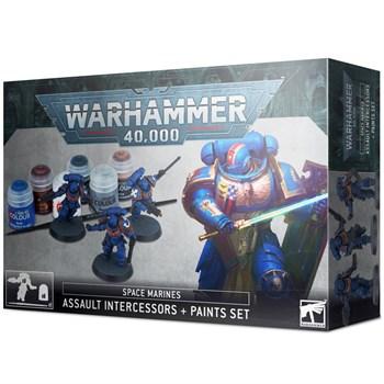 Assault Intercessors + Paint Set  (eng) Citadel