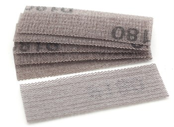 Шлифовальная сетка на липучке, P180, 30x90 мм, 6 шт.