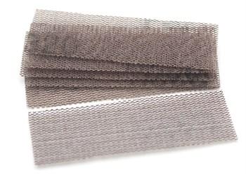 Шлифовальная сетка на липучке, P320, 30x90 мм, 6 шт.