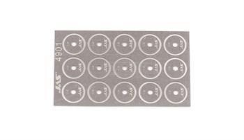 Диск для ревитера  d 8,5 мм, шаг 0,35 мм, 15 шт.