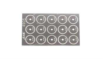 Диск для ревитера  d 8,5 мм, шаг 0,55 мм, 15 шт.